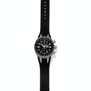 Oris, Limited Edition Titanium Ref. 7587 'Williams TT3' Chronograph Wristwatch