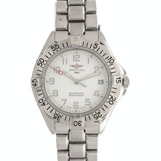 Breitling, Stainless Steel Ref. A17035 'Colt' Wristwatch
