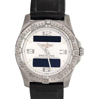 Breitling, Titanium Ref. E79362 'Aerospace Avantage' Chronograph Wristwatch