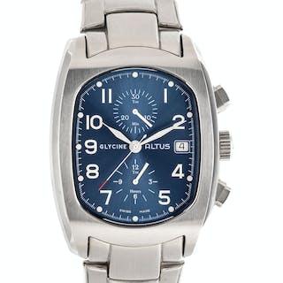 Glycine, Stainless Steel Ref. 3811 'Altus' Chronograph Wristwatch