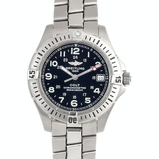 Breitling, Stainless Steel Ref. A74350 'Colt Chronograph' Wristwatch