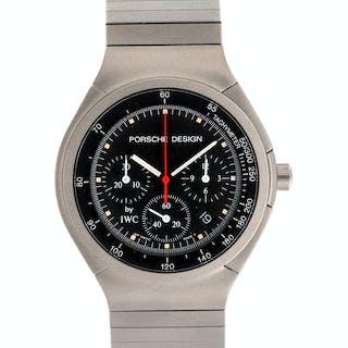 IWC for Porsche Design, Titanium Ref. 3743/3744 Chronograph Wristwatch