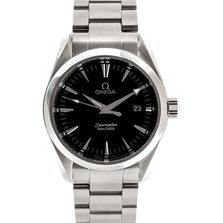 Omega, Stainless Steel 'Seamaster Aqua Terra' Wristwatch