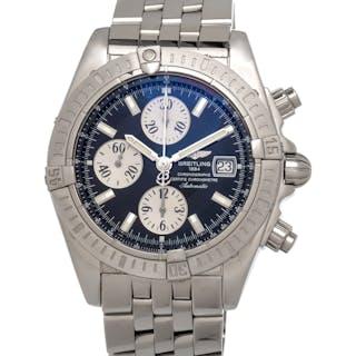 Breitling, Stainless Steel Ref. A13356 'Chronomat Evolution' Wristwatch