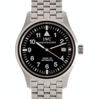 IWC, Stainless Steel 'Mark XV' Wristwatch