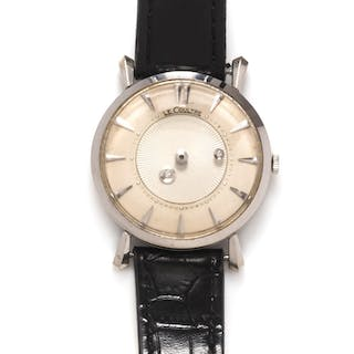 Le Coultre, 14K Yellow Gold and Diamond Ref. 182 'Mystery' Wristwatch