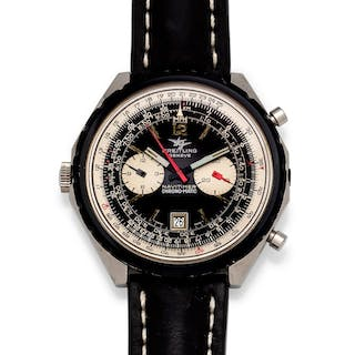 Breitling, Stainless Steel Ref. 1806 'Navitimer Chrono-Matic' Wristwatch