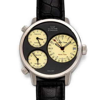 Glycine, Stainless Steel Ref. 3829 'Airman' Wristwatch