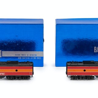 A Factory Boxed Balboa Polychrome HO-Gauge Southern Pacific Two-Part