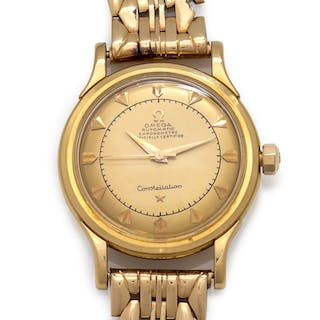 Omega, 18K Yellow Gold Ref. 2782/2799SC 'Constellation' Wristwatch