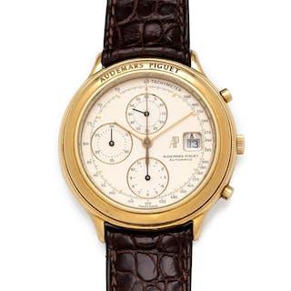 Audemars Piguet, 18K Yellow Gold Ref. 25644 'Huitieme' Chronograph Wristwatch