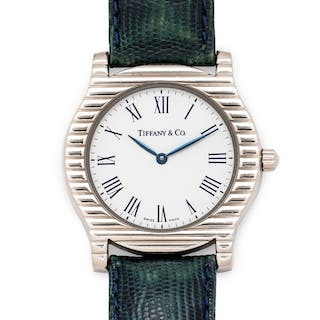 Tiffany & Co., 18K White Gold 'Cordis' Wristwatch, Circa 2001