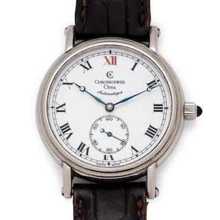 Chronoswiss, Stainless Steel 'Orea' Wristwatch