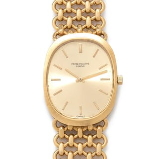 Patek Philippe, 18K Yellow Gold Ref. 3577.1 'Ellipse' Wristwatch