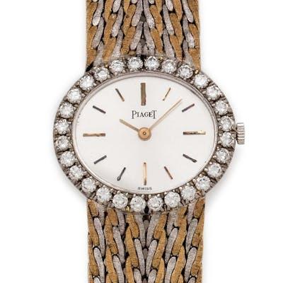 Piaget, 18K Bicolor Gold and Diamond Ref. 9804E47 Wristwatch
