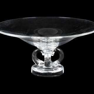 A Steuben Glass Compote