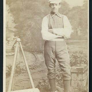 Baseball Player Carte De Visite C1870s Current Sales Barnebys