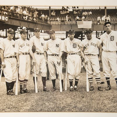 American League All-Star players photograph c.1936-38