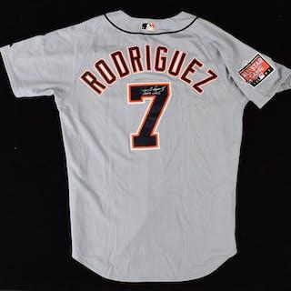"2007 Ivan ""Pudge"" Rodriguez Detroit Tigers All-Star Game..."