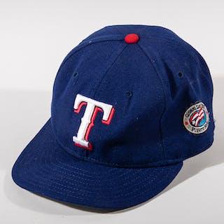 "Ivan ""Pudge"" Rodriguez autographed Texas Rangers Opening..."