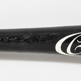 Fine Rickey Henderson autographed professional model baseball bat