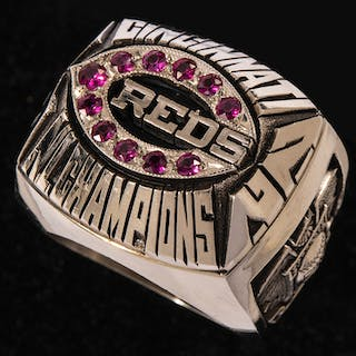 1972 Cincinnati Reds National League Champions 14K gold...