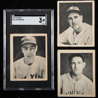 1939 Play Ball Near Complete Set 146 Of 161 Cards Current Sales
