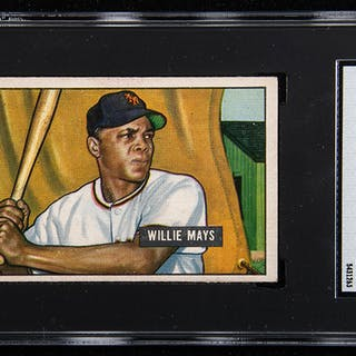 1951 Bowman #305 Willie Mays Rookie