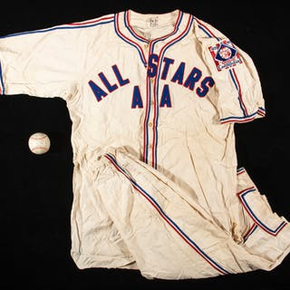 1939 American Association All-Star Game uniform with...