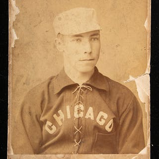 Tom Daly Chicago White Stockings cabinet card c