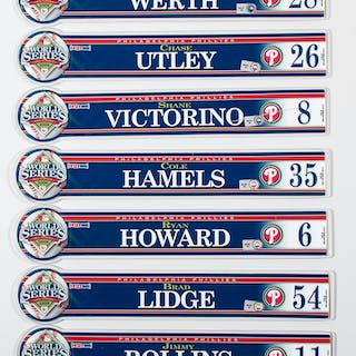 2008 Philadelphia Phillies World Series locker room nameplates (39)