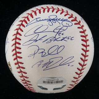 Fine 2008 Philadelphia Phillies team autographed baseball (World Champions)