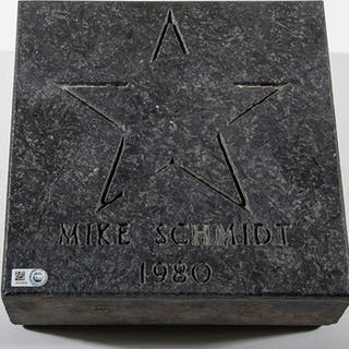 "Mike Schmidt ""Ashburn Alley"" commemorative paver stone"
