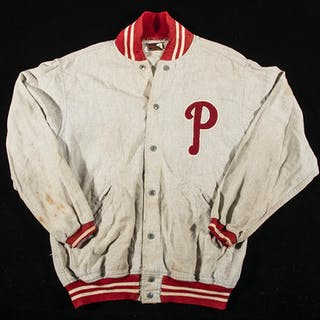 Philadelphia Phillies professional model warm up jacket c.1950s