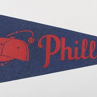 Philadelphia Phillies souvenir pennant c.1950s