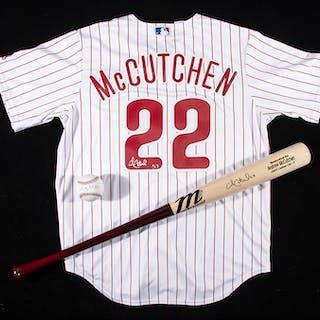 Andrew McCutchen autographed Phillies replica jersey