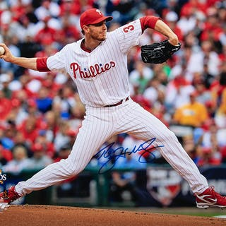 "Roy Halladay autographed 16""x20"" photograph"