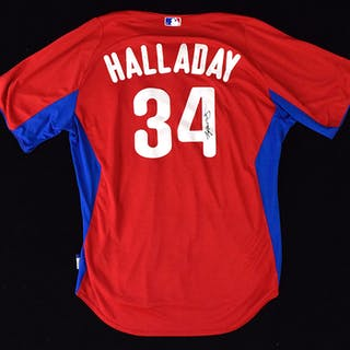 2012 Roy Halladay Philadelphia Phillies autographed...