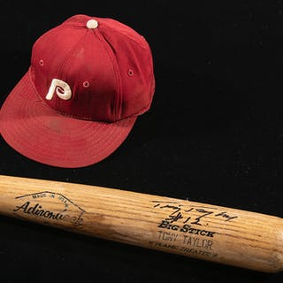 Tony Taylor autographed Philadelphia Phillies...