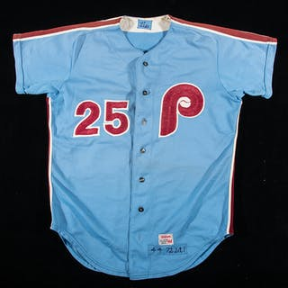 Rare 1972 Joe Lis Philadelphia Phillies professional...