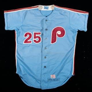 Rare 1972 Joe Lis Philadelphia Phillies professional...