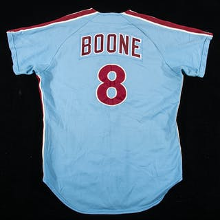 1973 Bob Boone Philadelphia Phillies professional model...