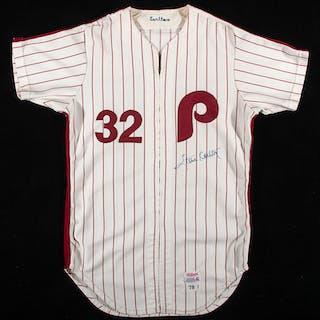 Outstanding 1978 Steve Carlton autographed Philadelphia...