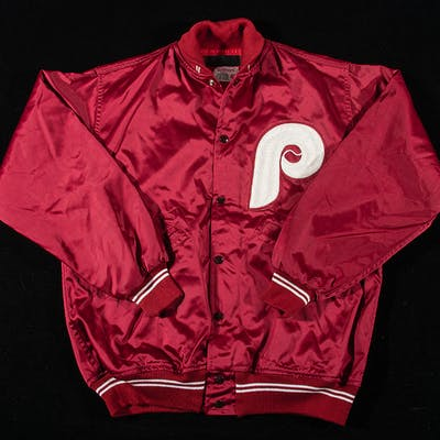 Larry Bowa attributed Philadelphia Phillies professional model jacket c.1970s