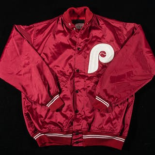 Larry Bowa attributed Philadelphia Phillies professional model jacket c.1970s