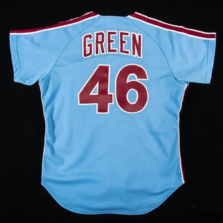 Dallas Green Philadelphia Phillies professional model road jersey c.1981