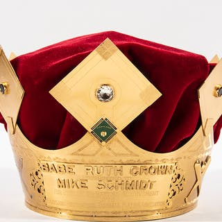 1976 Mike Schmidt -Babe Ruth Crown+ for outstanding batting achievement