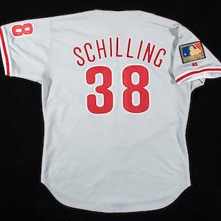 1994 Curt Schilling autographed Philadelphia Phillies...