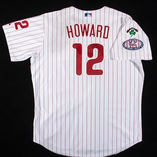 Rare 2004 Ryan Howard autographed Philadelphia Phillies...