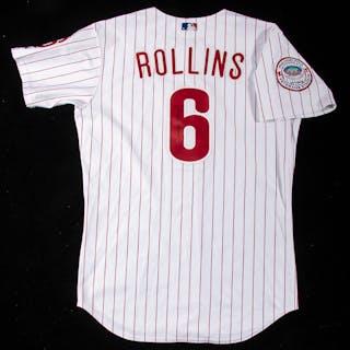 2003 Jimmy Rollins autographed Philadelphia Phillies...